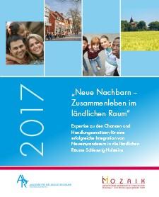 Cover der Expertise ``Neue Nachbarn - Zusammenleben im ländlichen Raum``